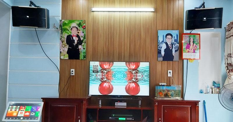 loa karaoke gia đình jbl pasion 12