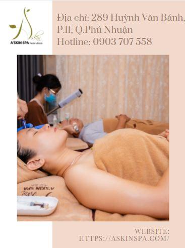 a'skin spa điều trị mụn